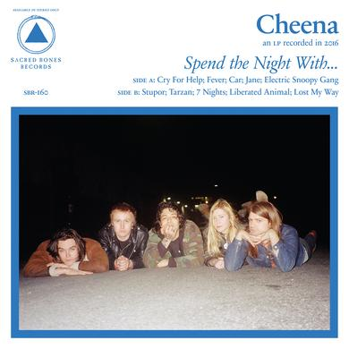 CHEENA SPEND THE NIGHT WITH Vinyl Record - UK Release