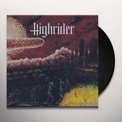 HIGHRIDER ARMAGEDDON ROCK Vinyl Record