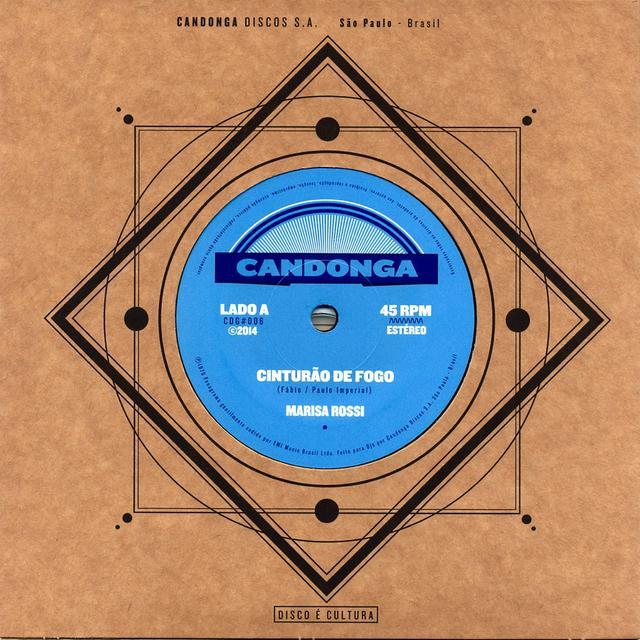 Marissa Rossi CINTURAO DE FOGO / DEIXA EU TE AMAR Vinyl Record