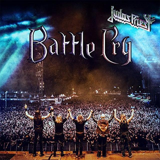 Judas Priest BATTLE CRY   (DLI) Vinyl Record - Gatefold Sleeve, 180 Gram Pressing