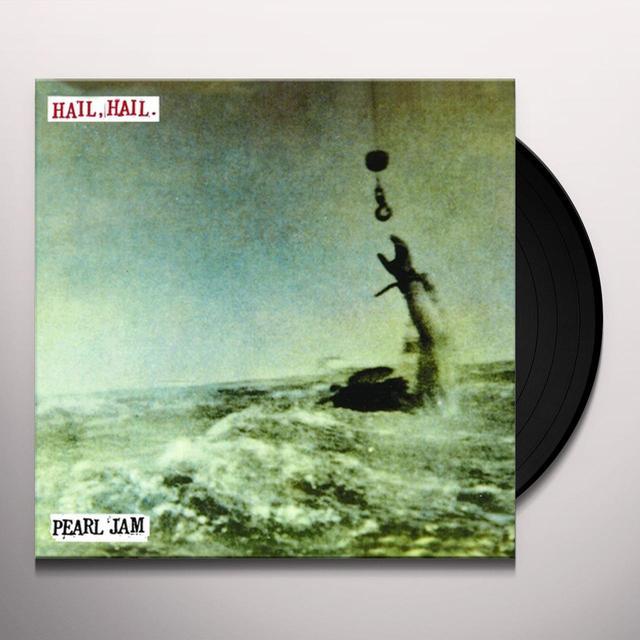 Pearl Jam HAIL HAIL / BLACK RED YELLOW Vinyl Record