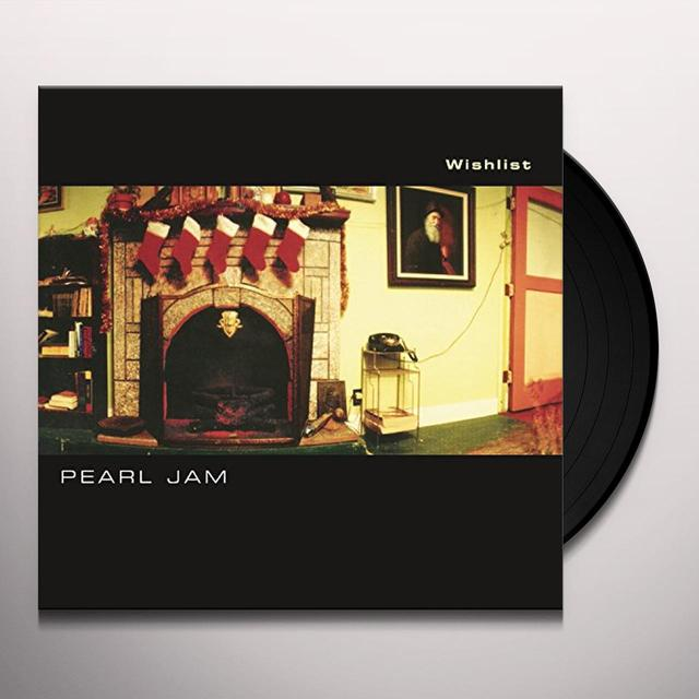 Pearl Jam WISHLIST / U & BRAIN OF J (LIVE) Vinyl Record