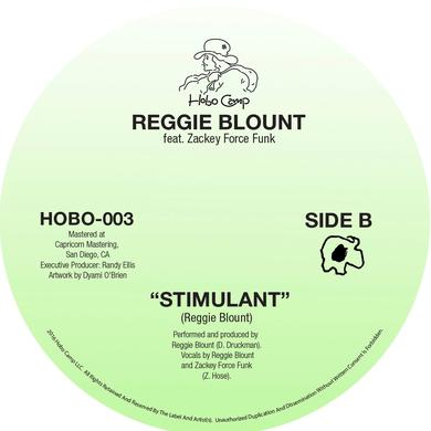 REGGIE BLOUNT SPACE BITCH / STIMULANT Vinyl Record