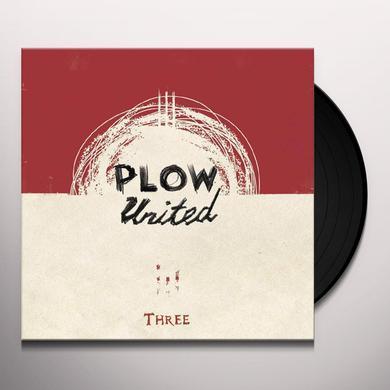 Plow United THREE Vinyl Record