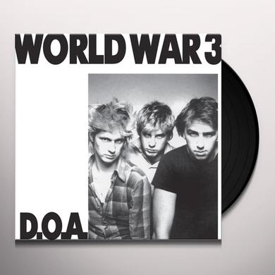 Doa WORLD WAR 3 Vinyl Record