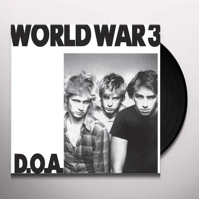 Doa WORLD WAR 3 Vinyl Record