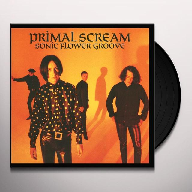 Primal Scream SONIC FLOWER GROOVE Vinyl Record