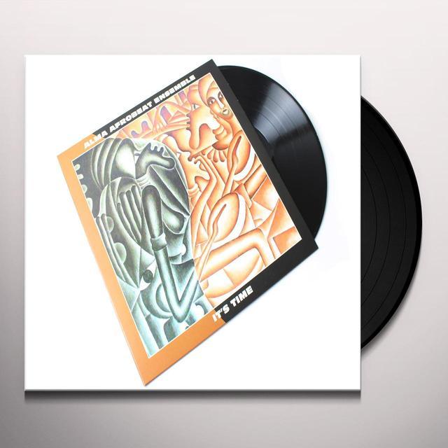 ALMA AFROBEAT ENSEMBLE IT'S TIME Vinyl Record