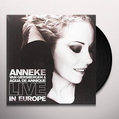 Anneke Van Giersbergen / Aqua De Annique LIVE IN EUROPE Vinyl Record