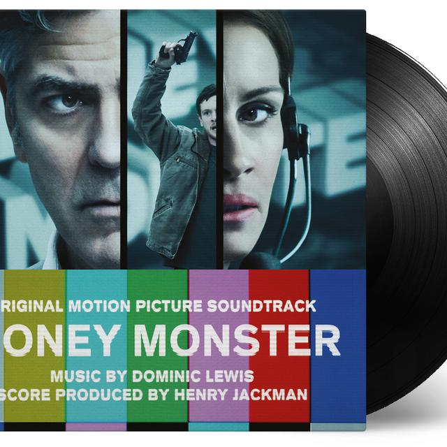 Dominic Lewis / Henry Jackman MONEY MONSTER / O.S.T. Vinyl Record - Green Vinyl, Limited Edition, 180 Gram Pressing