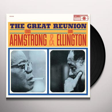Louis Armstrong & Duke Ellington GREAT REUNION Vinyl Record