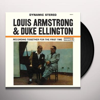 Louis Armstrong & Duke Ellington TOGETHER FOR THE FIRST TIME Vinyl Record - 180 Gram Pressing