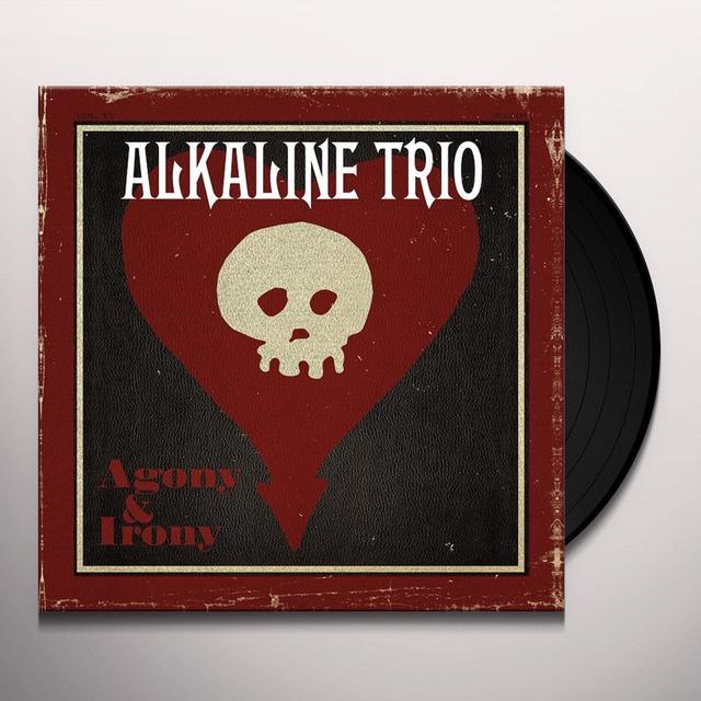 Alkaline Trio AGONY & IRONY  (WB) Vinyl Record - Gatefold Sleeve, Reissue