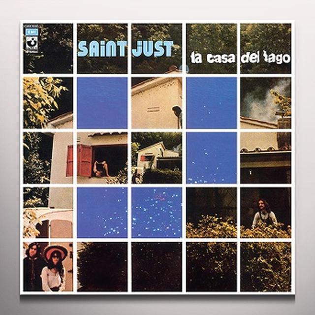 Saint Just LA CASA DEL LAGO Vinyl Record - Blue Vinyl