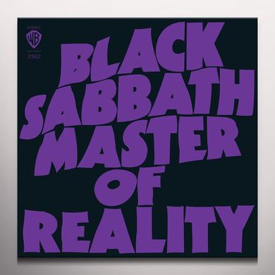 Black Sabbath MASTER OF REALITY Vinyl Record - Colored Vinyl, Green Vinyl, Limited Edition, 180 Gram Pressing