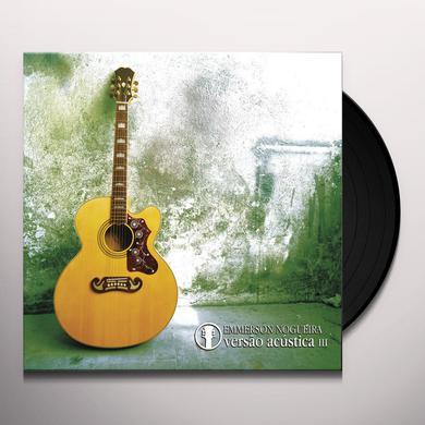 Emmerson Nogueira VERSAO ACUSTICA V.5 Vinyl Record