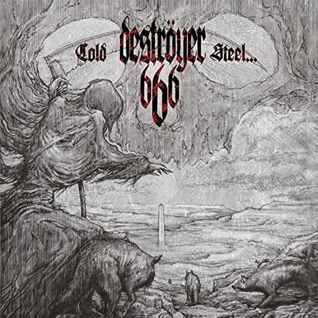 Destroyer 666 COLD STEEL FOR AN IRON AGE Vinyl Record - Canada Import