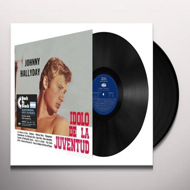 Johnny Hallyday EL IDOLO DE LA JUVENTUD Vinyl Record - Canada Import