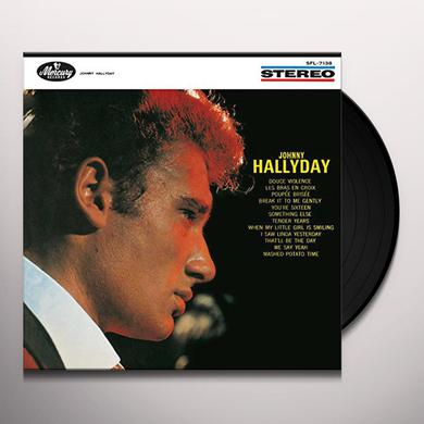 Johnny Hallyday LES BRAS EN CROIX Vinyl Record - Canada Import