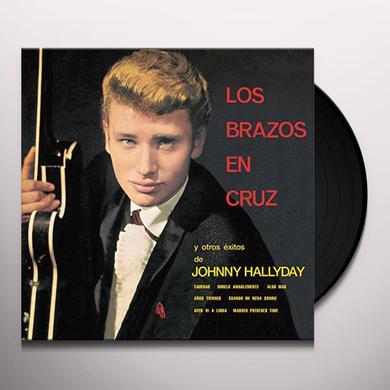 Johnny Hallyday LOS BRAZOS EN CRUZ Vinyl Record
