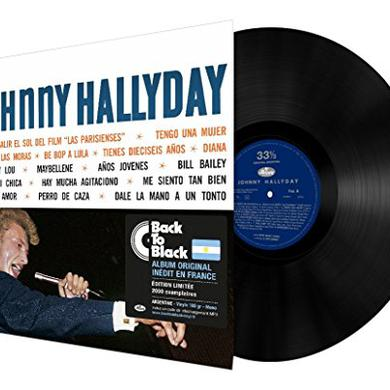 Johnny Hallyday SINGS AMERICA'S ROCKIN Vinyl Record
