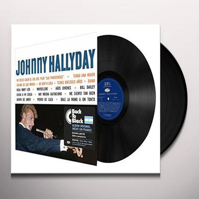 Johnny Hallyday SINGS AMERICA'S ROCKIN Vinyl Record - Canada Import