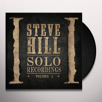 Steve Hill SOLO RECORDINGS VOLUME 3 Vinyl Record