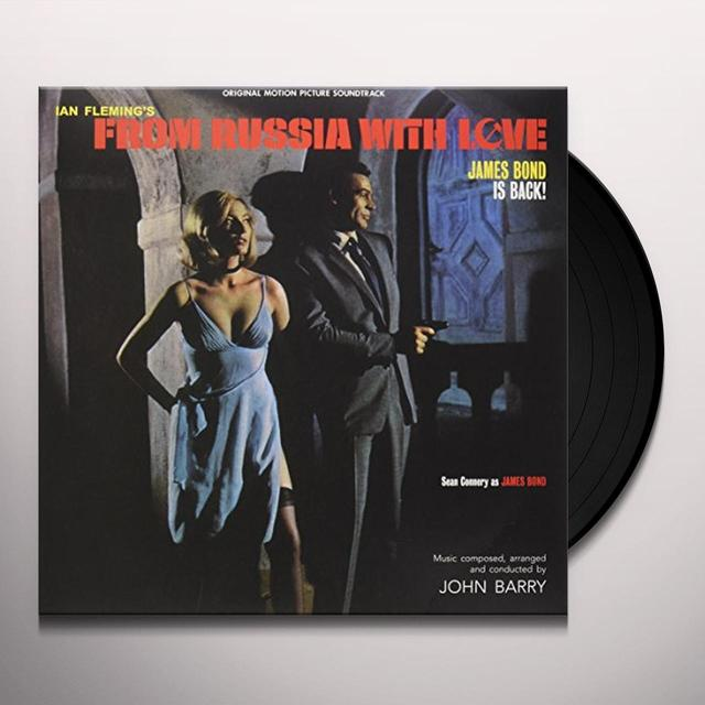 John Barry FROM RUSSIA WITH LOVE / O.S.T. Vinyl Record - UK Import