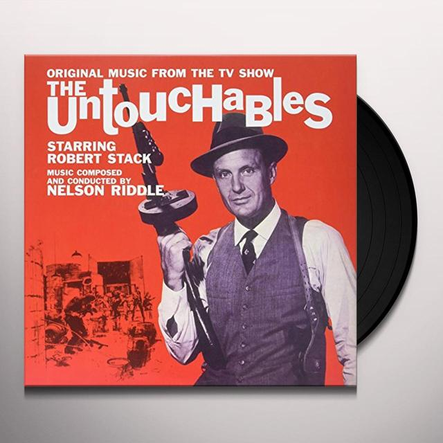Nelson Riddle UNTOUCHABLES / O.S.T. Vinyl Record - UK Import