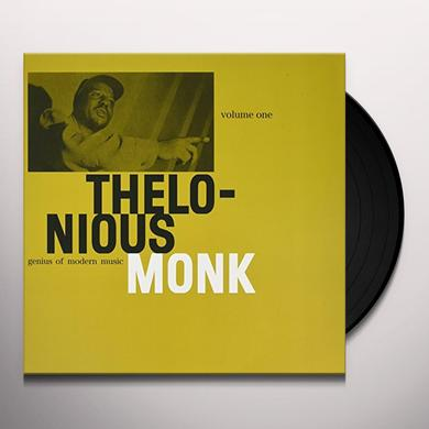 Thelonious Monk GENIUS OF MODERN MUSIC VOL 1 Vinyl Record