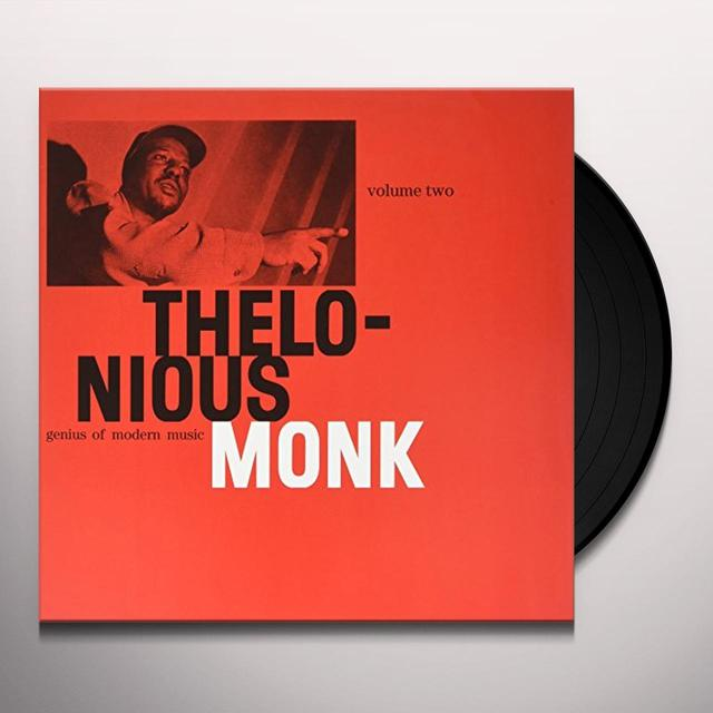 Thelonious Monk GENIUS OF MODERN MUSIC VOL 2 Vinyl Record - UK Import
