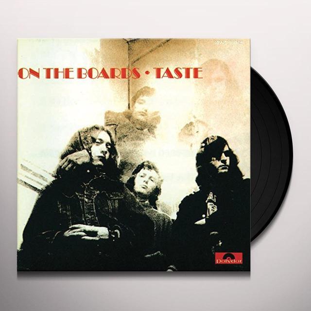 Taste ON THE BOARDS (HK) Vinyl Record