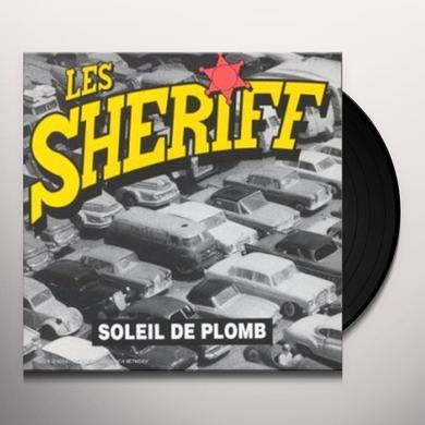 Les Sheriff SOLEIL DE PLOMB Vinyl Record