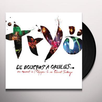Tryo  DE BOUCHES A OREILLES Vinyl Record