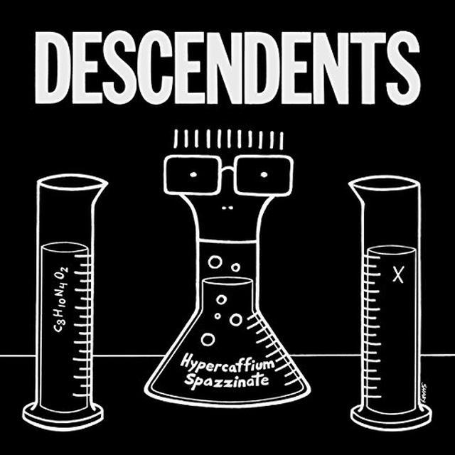 Descendents HYPERCAFFIUM SPAZZINATE Vinyl Record - UK Import