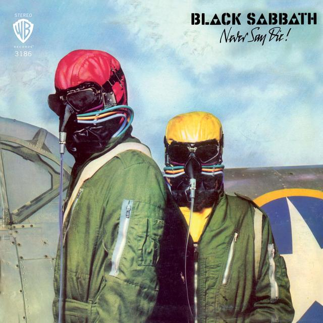 Black Sabbath NEVER SAY DIE Vinyl Record - Colored Vinyl, Gray Vinyl, Limited Edition, 180 Gram Pressing