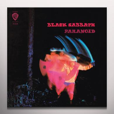 Black Sabbath PARANOID Vinyl Record - Blue Vinyl, Colored Vinyl, Limited Edition, 180 Gram Pressing