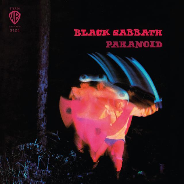 Black Sabbath PARANOID Vinyl Record - Blue Vinyl, Colored Vinyl, Limited Edition, 180 Gram Pressing
