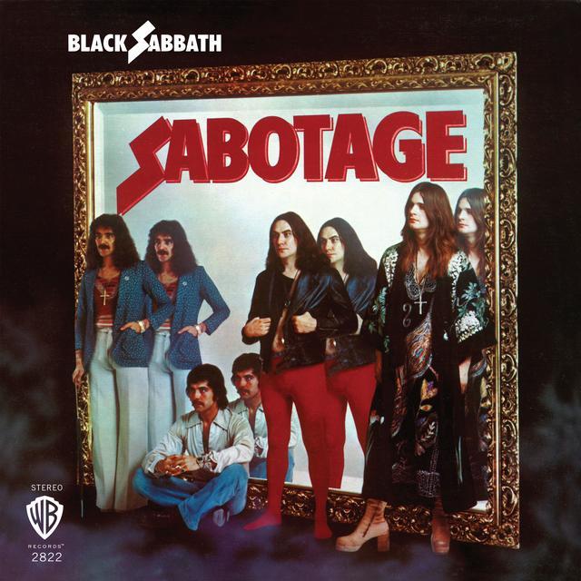 Black Sabbath SABOTAGE Vinyl Record - Colored Vinyl, Limited Edition, 180 Gram Pressing, Purple Vinyl
