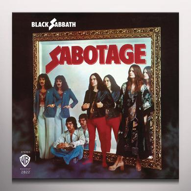 Black Sabbath SABOTAGE Vinyl Record - Colored Vinyl, Limited Edition, 180 Gram Pressing, Purple Vinyl