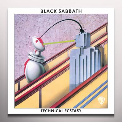 Black Sabbath TECHNICAL ECSTASY Vinyl Record - Colored Vinyl, Limited Edition, 180 Gram Pressing, White Vinyl
