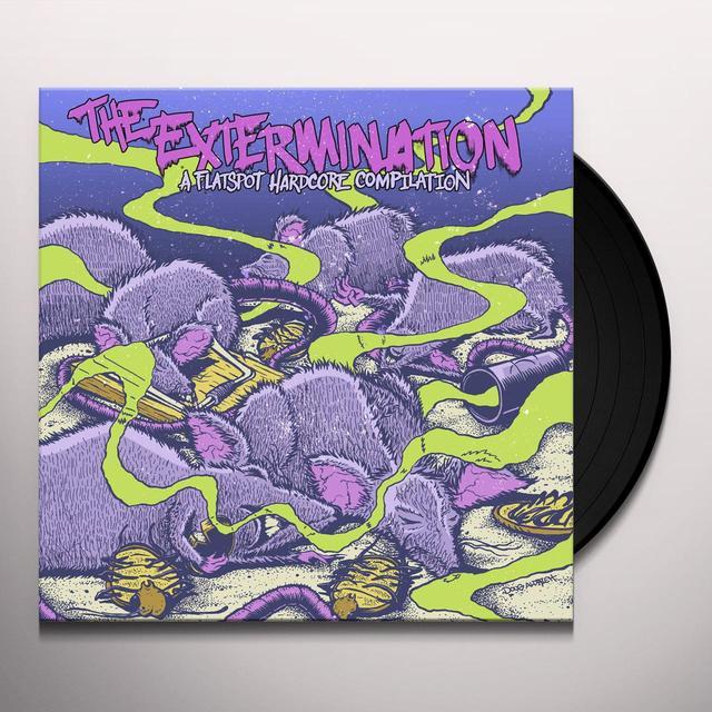 EXTERMINATION: A FLATSPOT HARDCORE / VARIOUS Vinyl Record