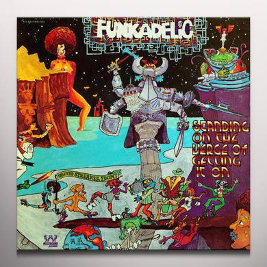 Funkadelic STANDING ON THE VERGE OF GETTING IT ON Vinyl Record - Colored Vinyl