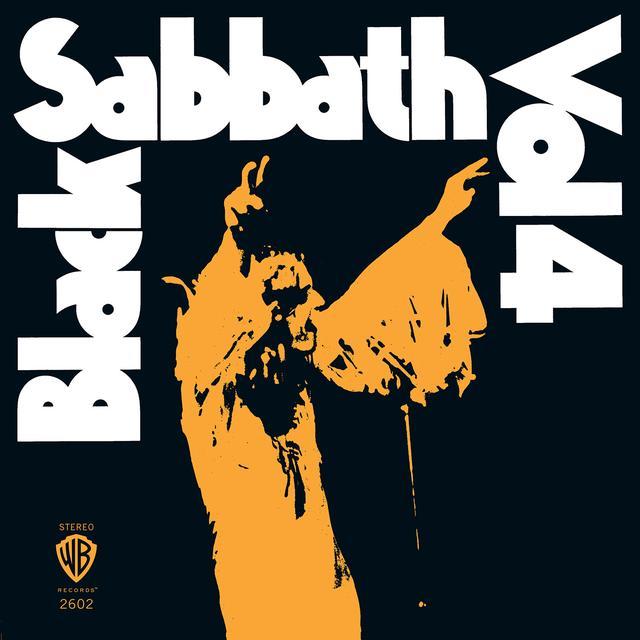 Black Sabbath VOL 4 Vinyl Record - Colored Vinyl, Limited Edition, 180 Gram Pressing, Orange Vinyl