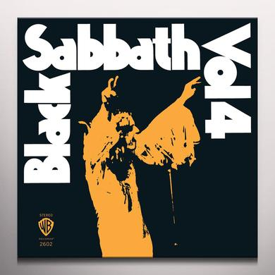 Black Sabbath VOL 4 Vinyl Record - Colored Vinyl, Limited Edition, 180 Gram Pressing, Orange Vinyl