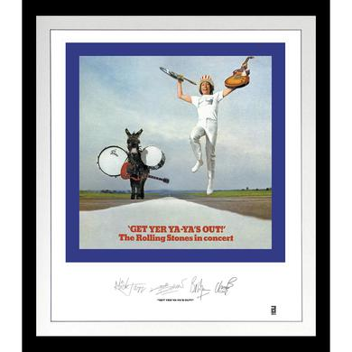 ROLLING STONES: GET YER YA-YA'S OUT LITHOGRAPH Vinyl Record