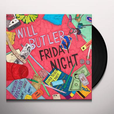 Will Butler FRIDAY NIGHT Vinyl Record