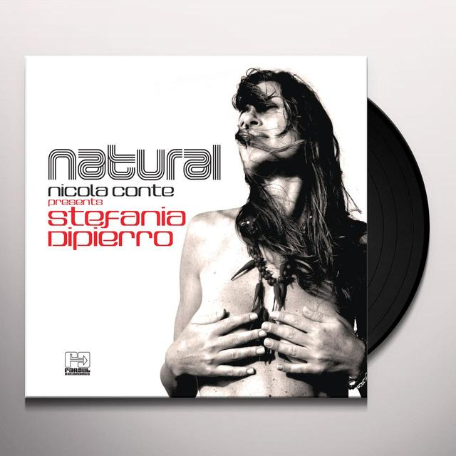 Nicola Conte PRESENTS STEFANIA DIPIERRO: NATURAL Vinyl Record - UK Release