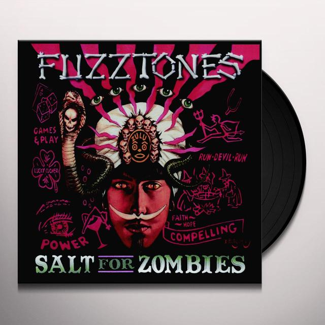 The Fuzztones SALT FOR ZOMBIES (WSV) Vinyl Record