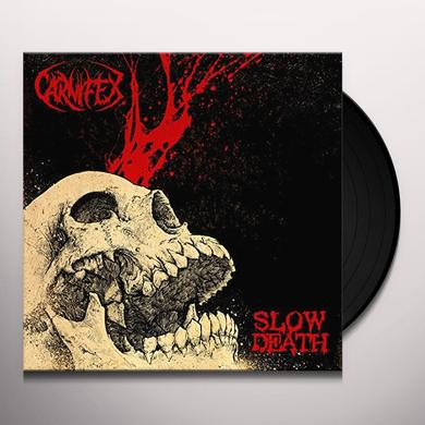 Carnifex SLOW DEATH Vinyl Record
